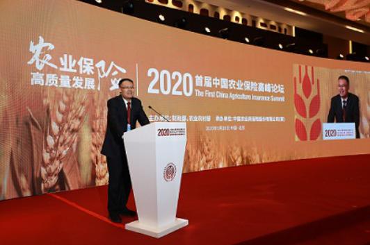 省财政厅党组书记、厅长王东伟应邀出席中国农业再保险股份有限公...
