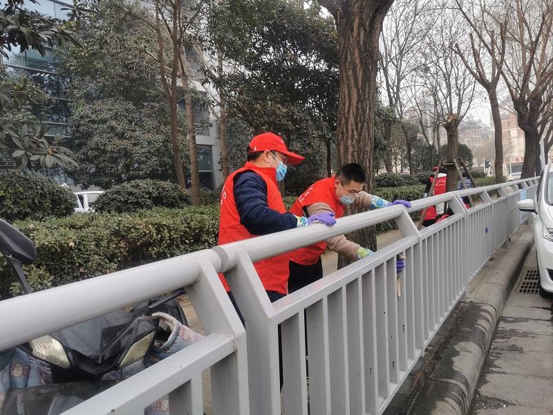 """省地方金融监管局党员志愿服务队 积极开展""""城市清洁""""志愿服务活动"""