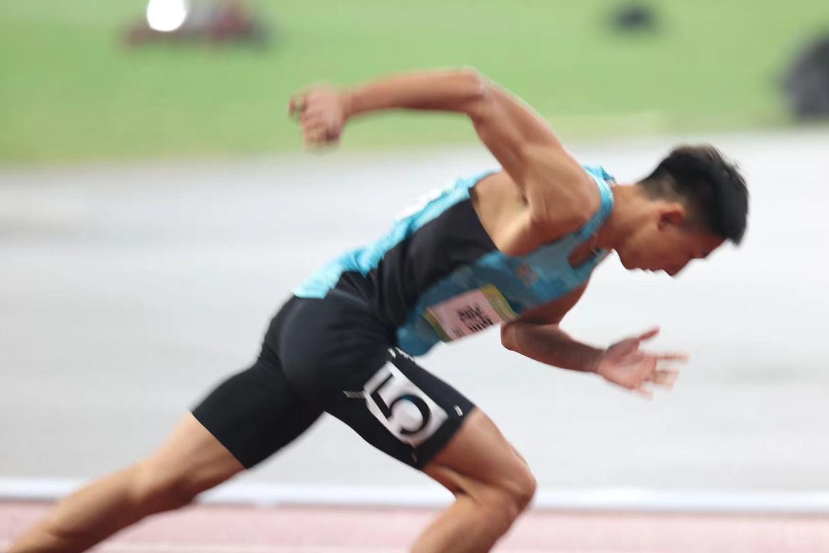 学霸+运动员,就是这么优秀 郑州帅小伙谢智宇全运会400米栏夺冠