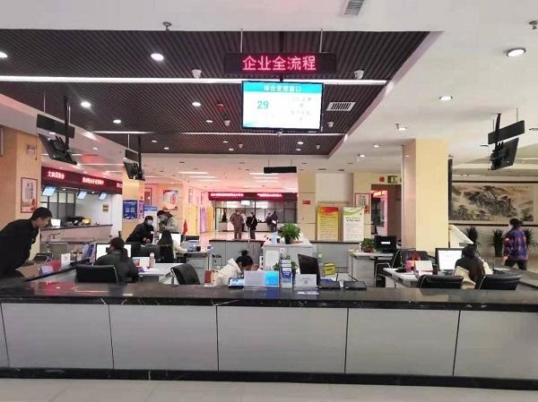郸城县行政服务中心 徐松 摄