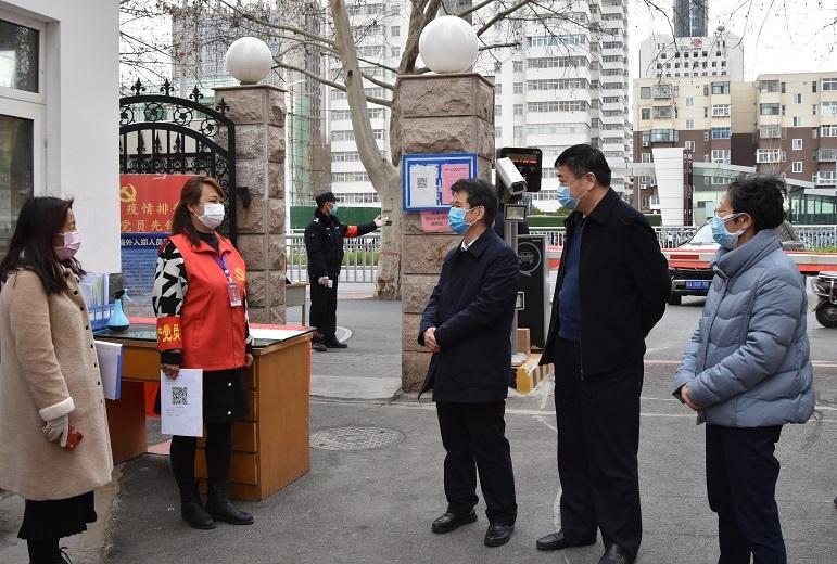 省粮食和储备局党组书记、局长张宇松<br>调研指导疫情防控工作并慰问一线防疫工作人员