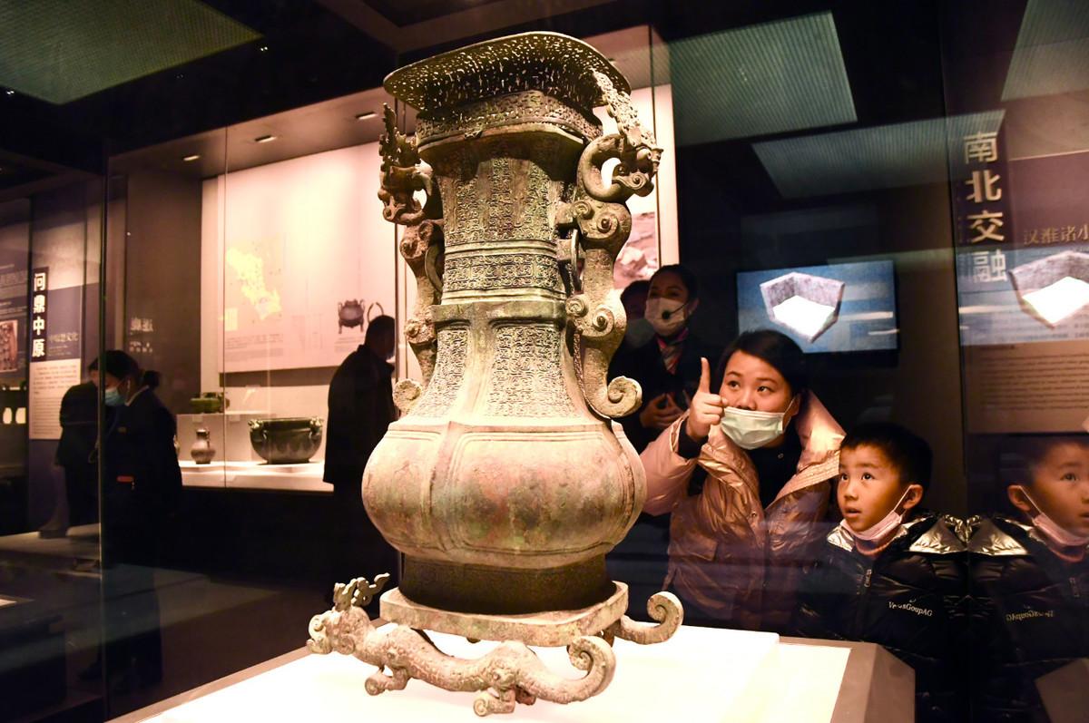 """线下艺术大展与""""云上""""文化大餐 河南博物院邀您一起""""过牛年"""""""