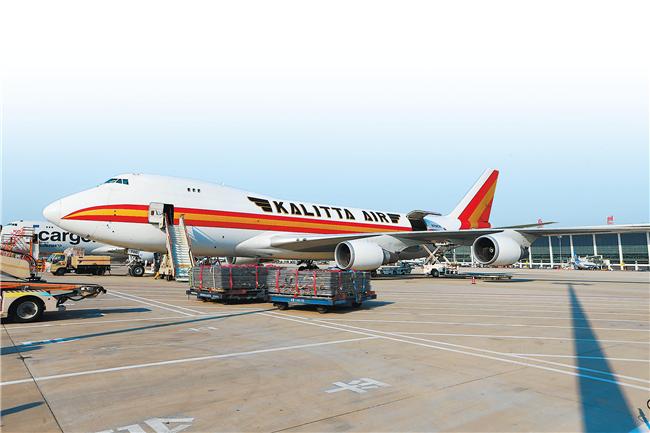 全货机、国际地区货运量均实现两位数增长  郑州机场高位运行逆势上扬