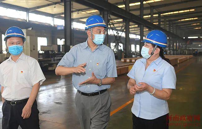 尹弘到济源调研钢铁业转型升级工作