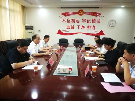 省审计厅胡汉阳来光山县调研审计工作