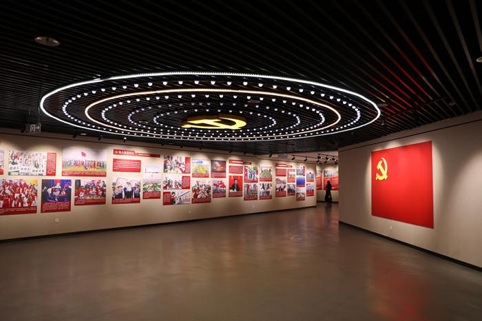 """鹤壁市博物馆举办""""庆祝中国共产党成立一百周年""""特展"""