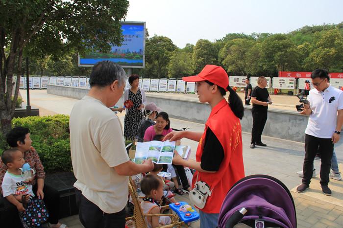 2021年新郑市文化和自然遗产日暨文旅消费季宣传活动在郑韩故城国家考古遗址公园隆重举行