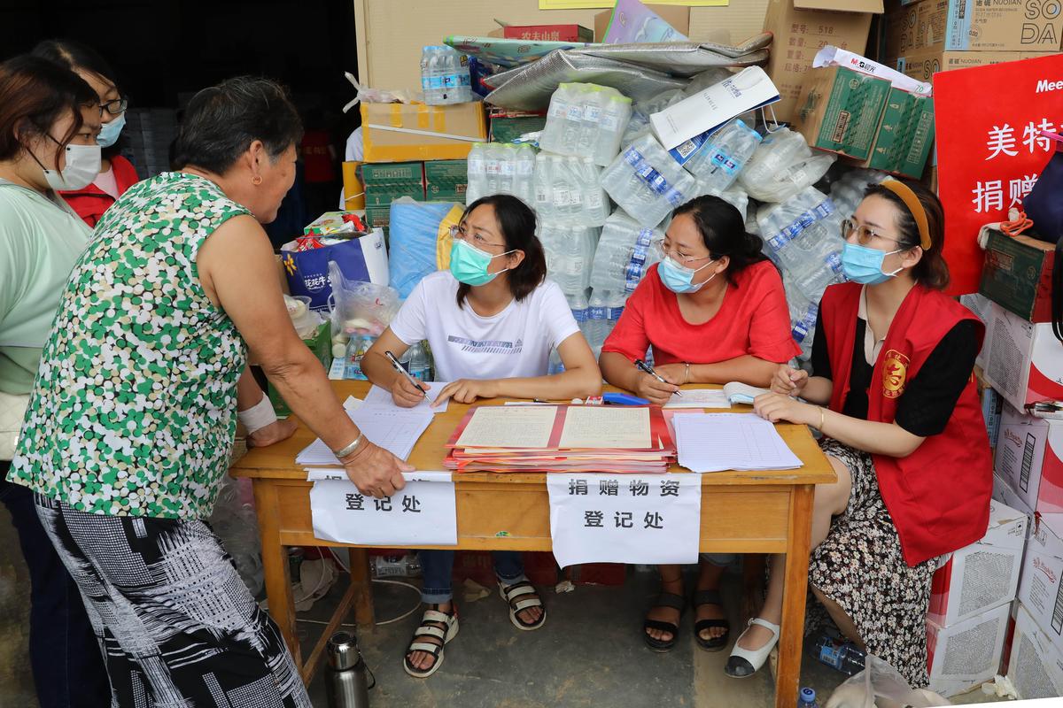 河南省鹤壁市淇县审计局及时跟进为防汛救灾捐赠物资提供审计保障