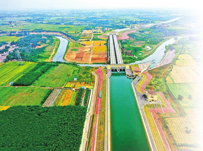 生態補水相當于135個西湖 南水北調潤中原