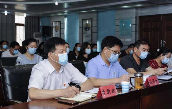 漯河市人防办接受市人大常委会评议询问动员会召开