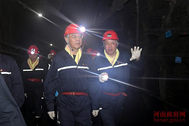 尹弘深入700米矿井下2小时 检查煤矿安全生产工作