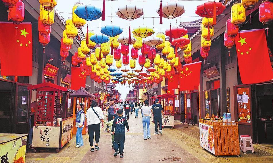 Yuntai Ancient Town in Jiaozuo City