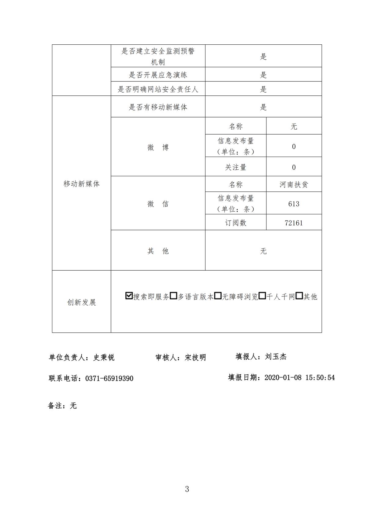 河南省扶贫开发办公室2019年政府网站工作年度报表_02.png