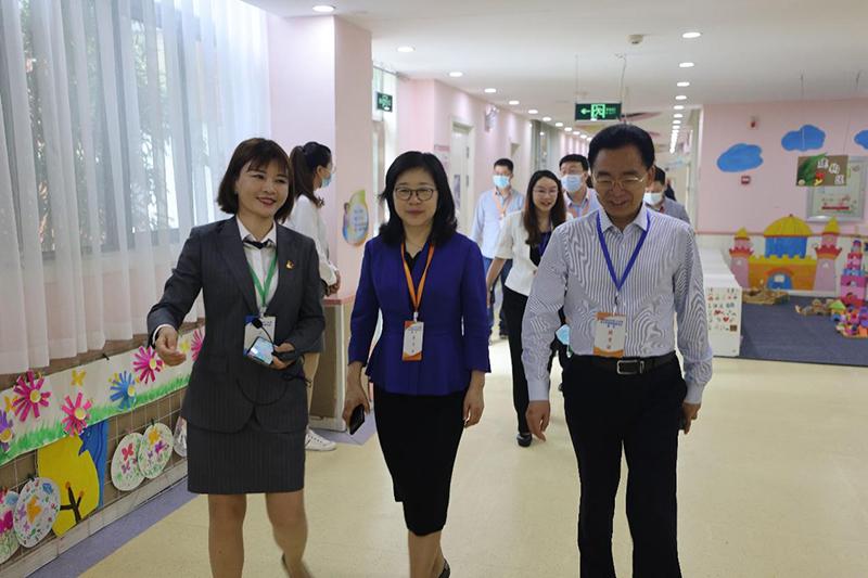 省教育厅巡视中小学教师资格考试面试工作