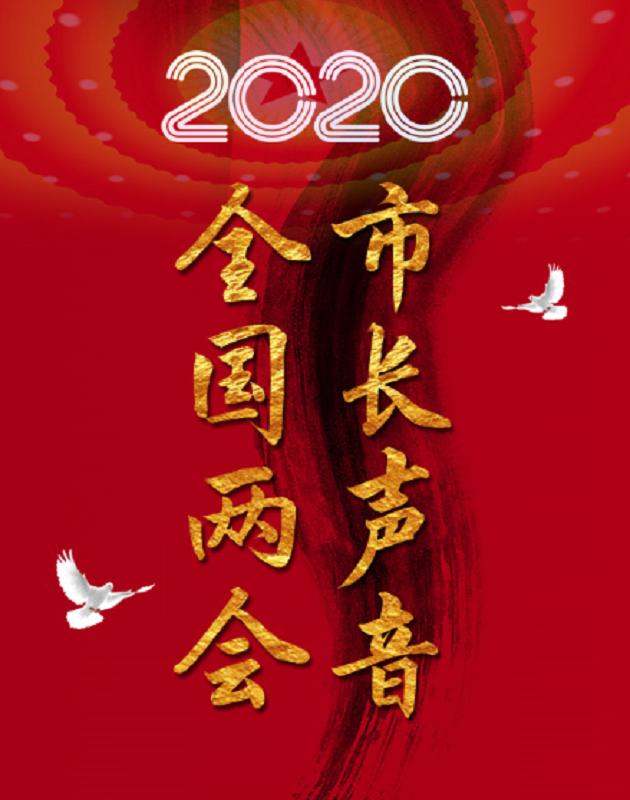 """两会长图:2020全国两会河南市长""""云访谈"""""""