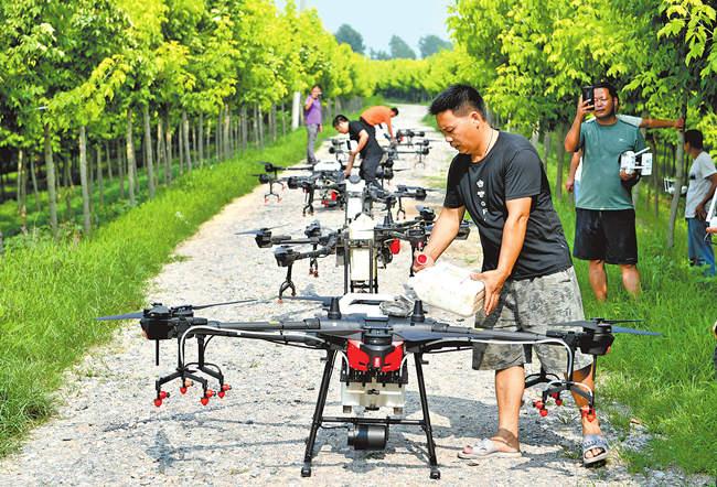 智慧农机 驰骋田野 ——关注河南省农业高质量发展之六