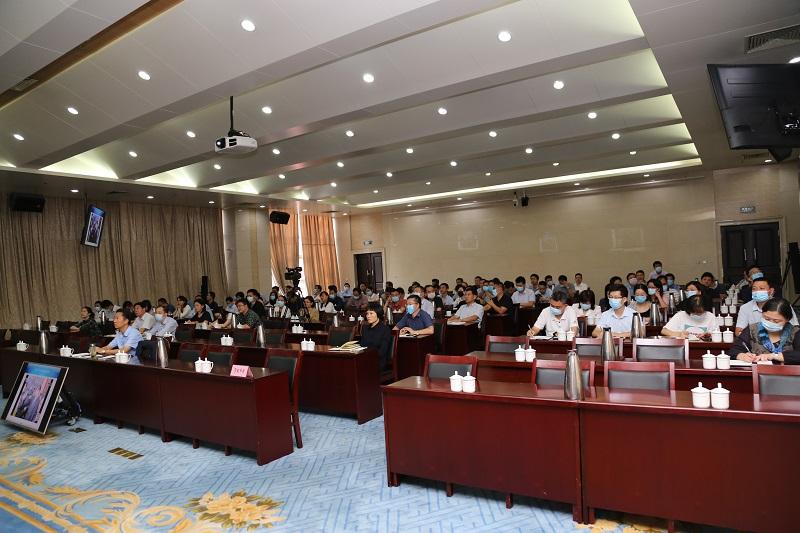 省地方金融监管局参加《习近平谈治国理政》第三卷专题讲座