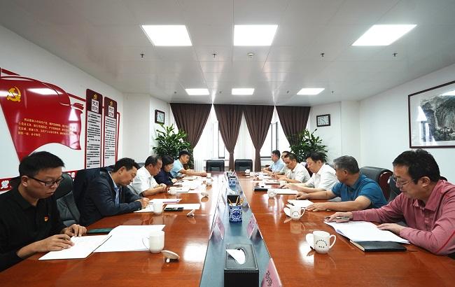 省委党史学习教育第三巡回指导组来我局开展第二轮集中巡回指导