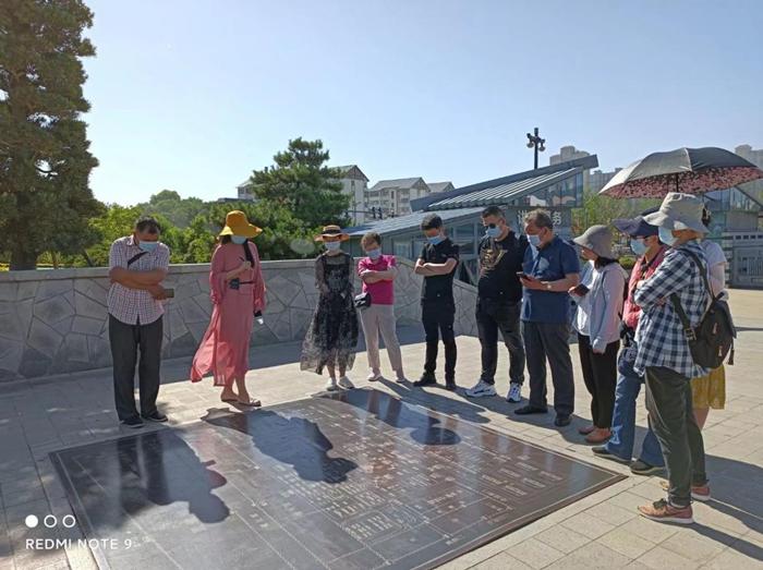 洛阳民俗博物馆志愿者到隋唐洛阳城国家历史文化公园交流学习