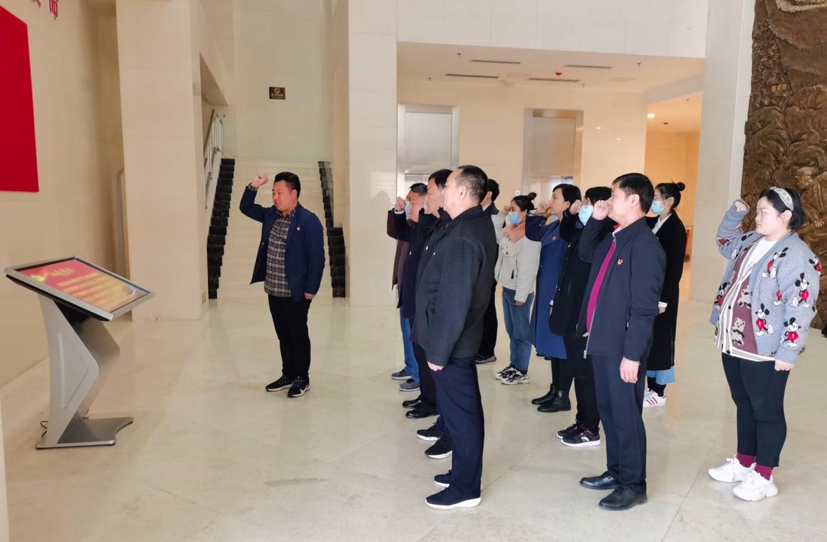 """就業消費處黨支部開展 """"我們不會忘記""""黨史學習教育活動"""