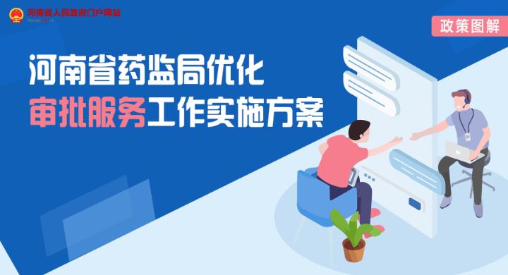 图解:河南省药品监督管理局优化审批服务工作