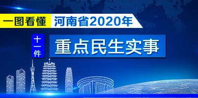 一圖看懂|河南省2020年十一件重點民生實事