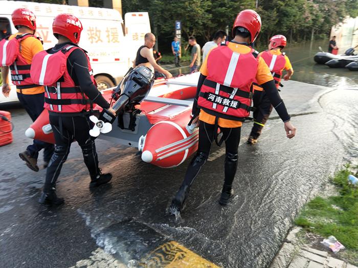 安徽庐江救灾,河南省应急救援协会在行动
