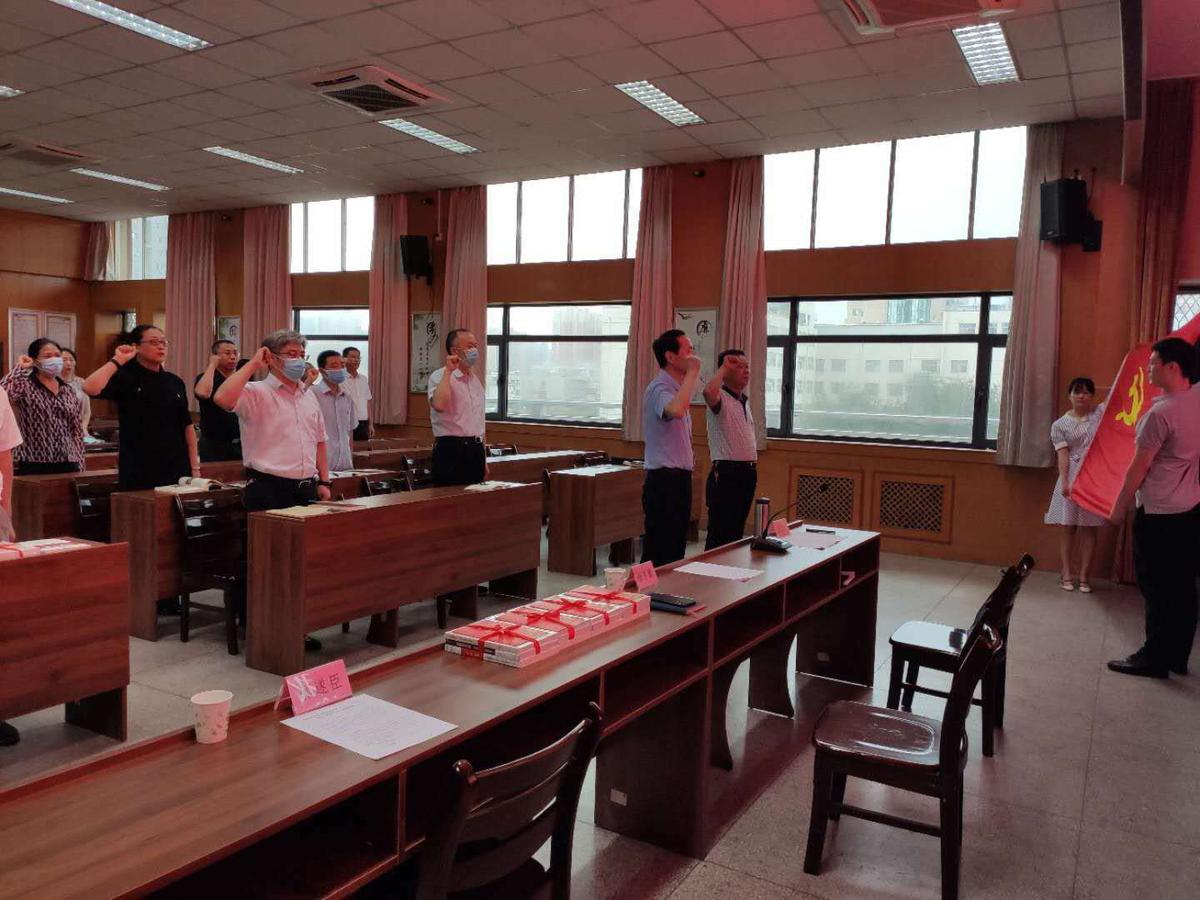 """省科技厅组织第三季度入党的同志过集体""""政治生日"""""""