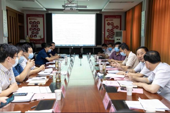 濮阳市发展改革委与农发行召开重大项目对接会