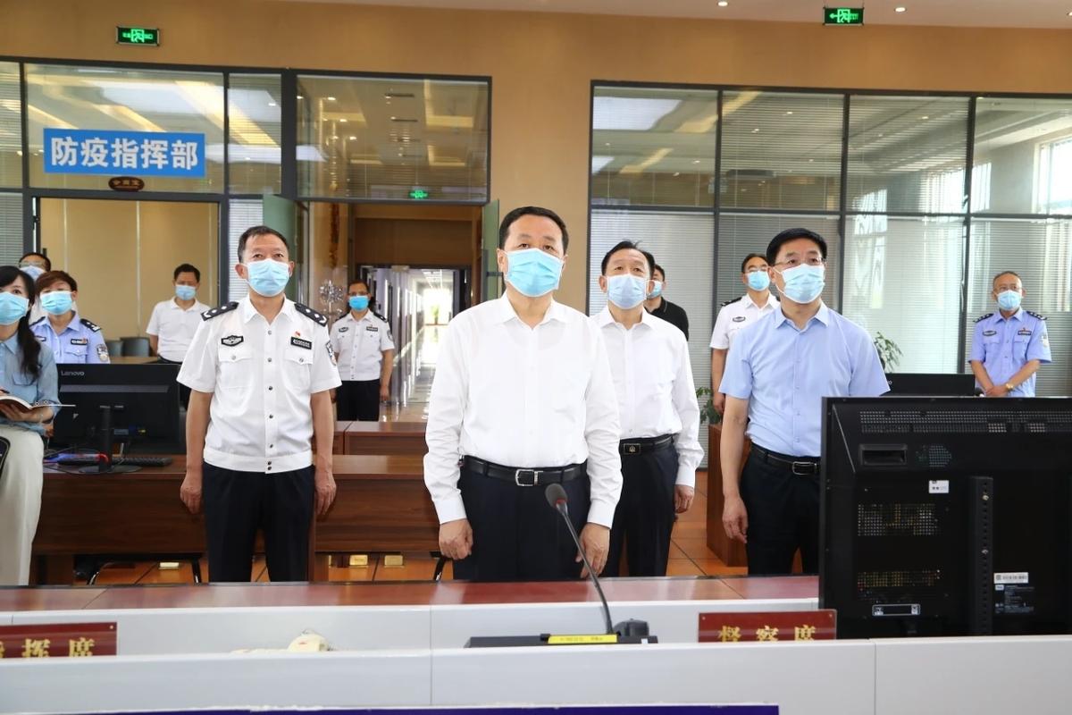 严密措施 严格管理 严肃纪律 确保监管场所疫情防控万无一失