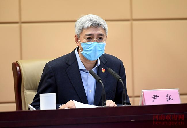 尹弘:確保企業穩健運行項目有序建設