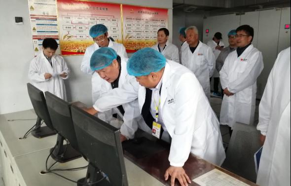中国国际经济交流中心深入河南新乡调研小麦产销工作