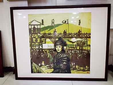 """央媒看河南丨木蘭之鄉盛產""""花木蘭"""",她們的作品被當作國禮"""