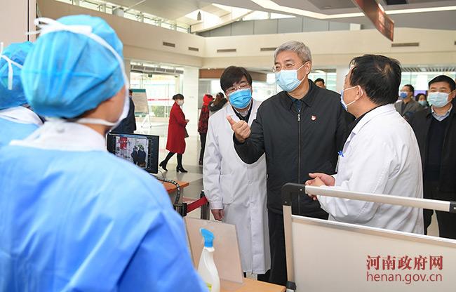尹弘到省人民醫院檢查疫情防控:珍惜榮譽再接再厲,不斷提高醫療救治水平