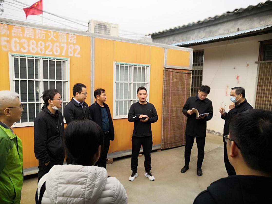 新乡市审计局赴帮扶村开展集中走访慰问活动