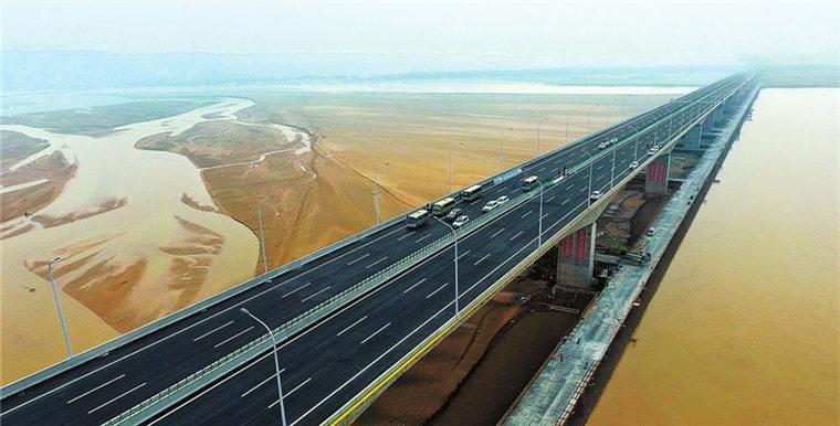 国道234焦作至荥阳黄河大桥正式通车