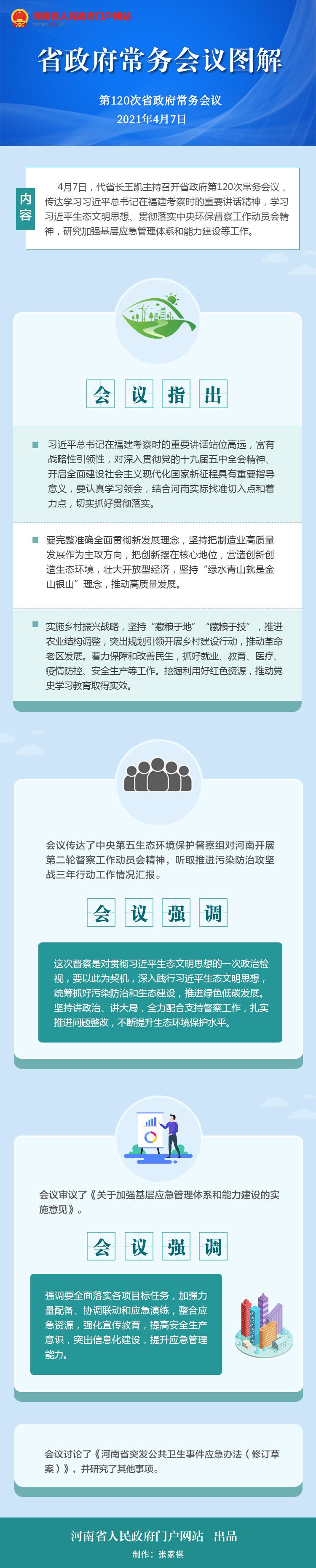 图解:第120次省政府常务会议