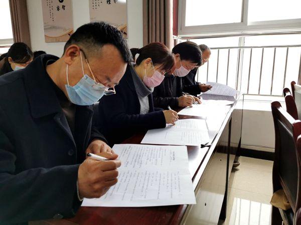 宝丰县农业农村局组织开展首接负责制知识测试