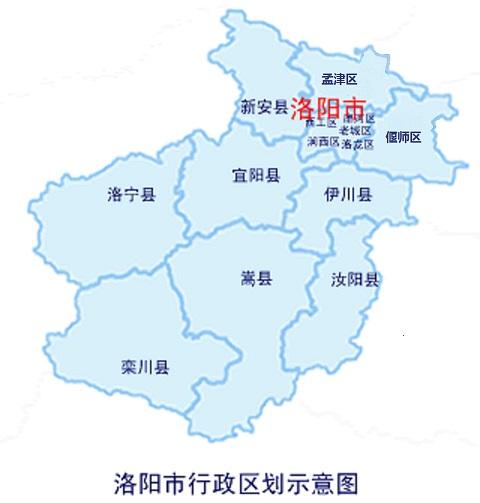 洛阳市行政区划及市情
