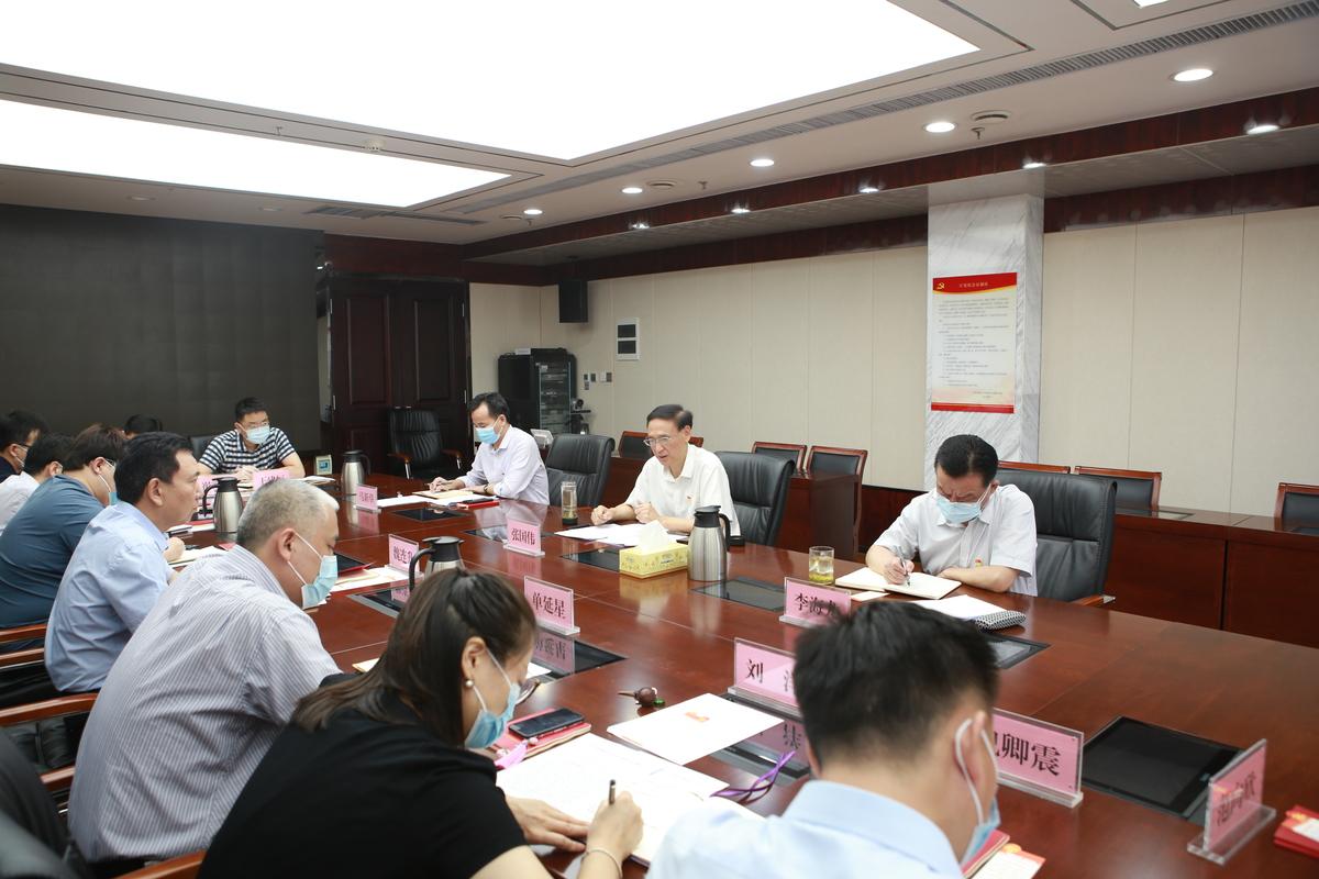 张国伟同志以普通党员身份参加所在党支部党史学习教育专题组织生活会