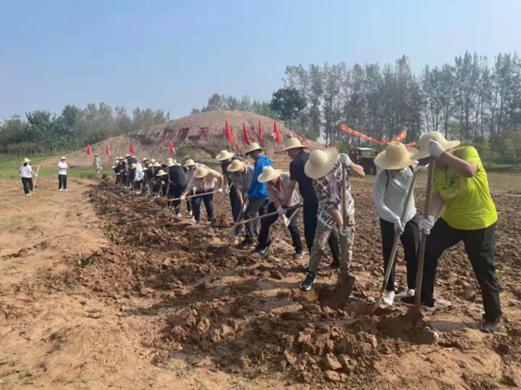 河南省体育场组织党员干部职工 到焦裕禄干部学院开展党史学习教育活动