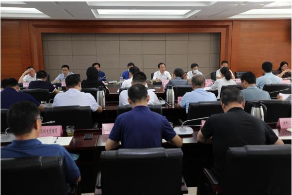 省工业和信息化厅召开庆祝中国共产党成立100周年座谈会