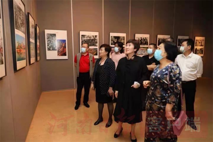 """200多幅摄影作品全景展现河南""""百年荣光"""""""