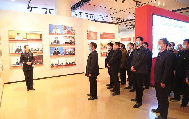 省事管局组织参观河南省扫黑除恶专项斗争成果展