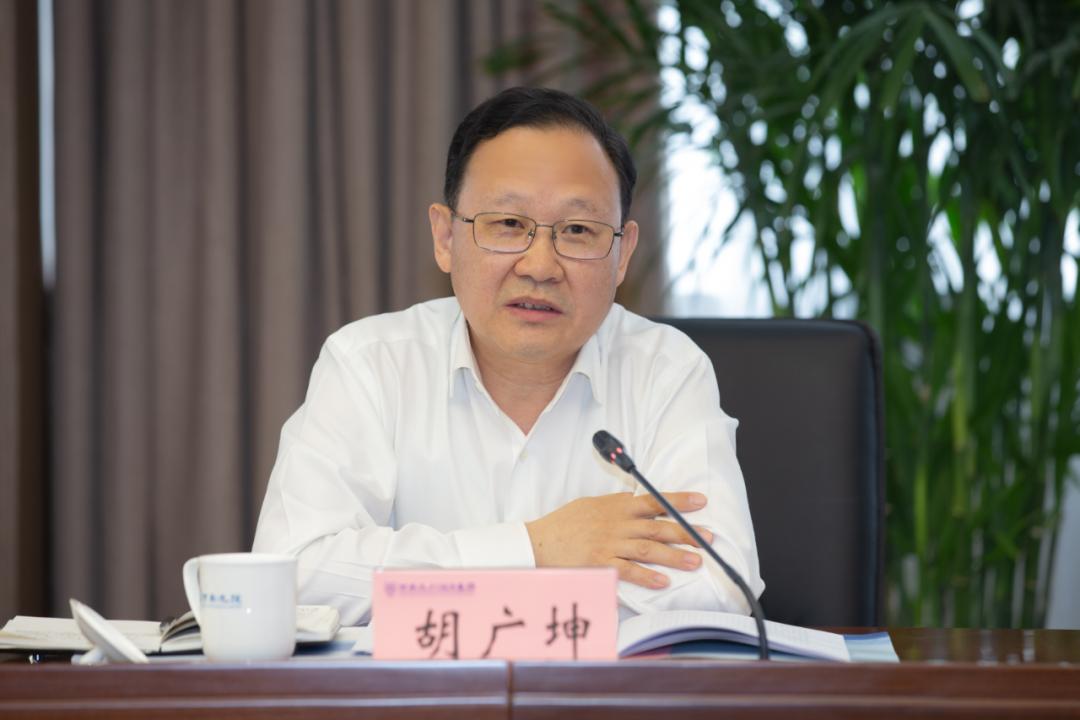 省政府国资委党委书记胡广坤赴河南水投集团调研