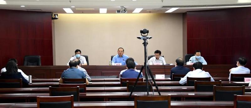 省政府食安办召开全省餐饮食品安全工作电视电话会议