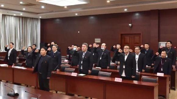 许昌市人防办举行新版行政执法证件颁发暨宣誓仪式