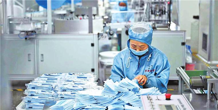 爭分奪秒!河南長垣42家醫用防護用品生產企業全部復工
