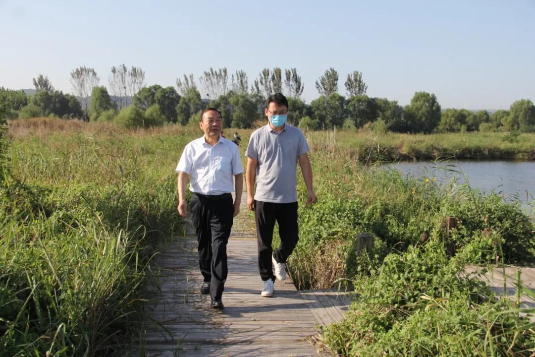 原永胜暗访沿黄4市中央环保督察反馈问题整改情况