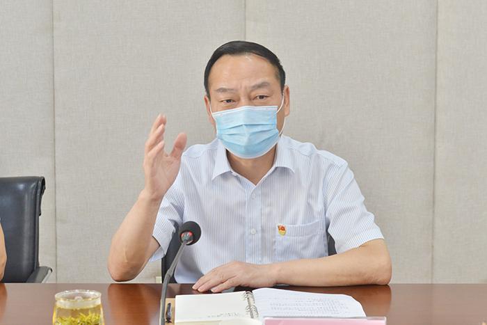 图/文:原永胜强调弘扬伟大抗疫精神扎实推进林业建设
